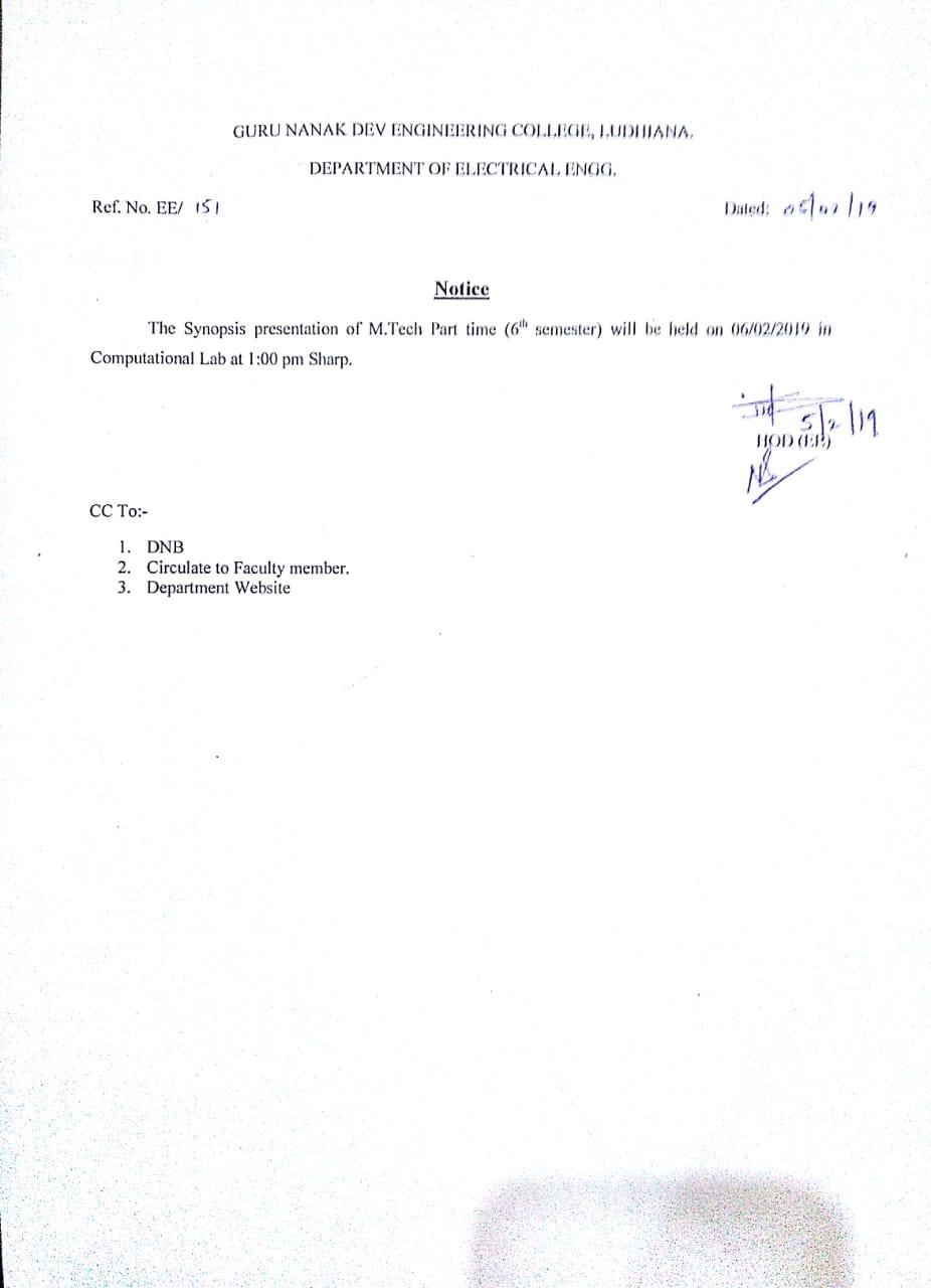 thesis report format gndec